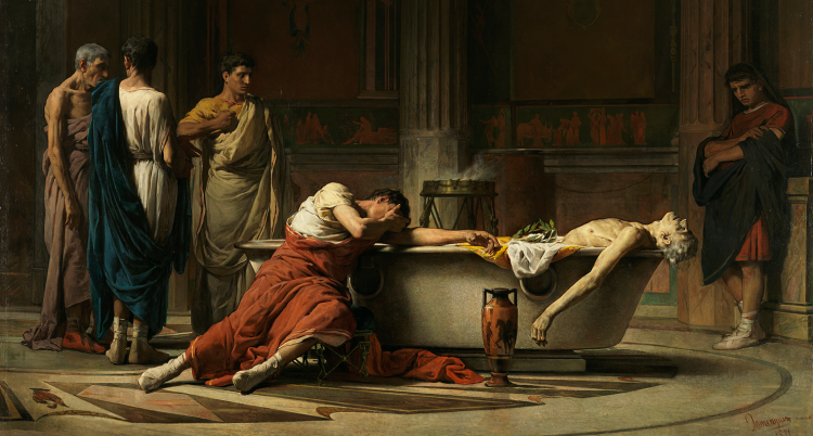Death of Seneca